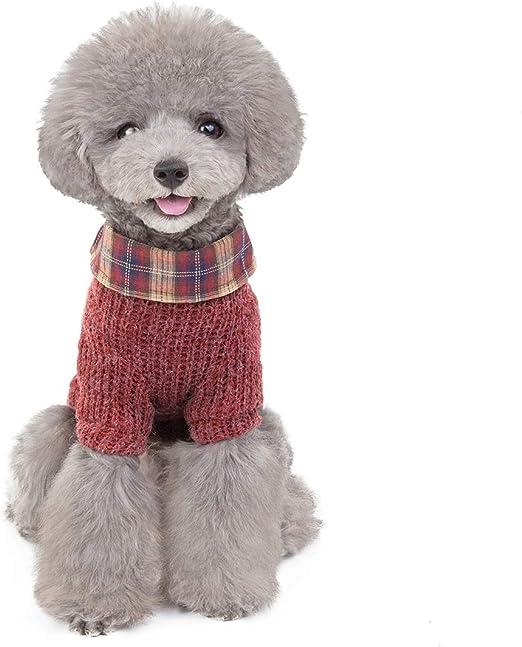 WMM Chaqueta con Capucha Capa de la Camisa del suéter de Perro con Estilo pequeño Cachorro