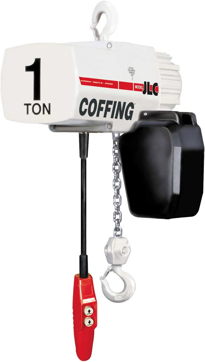 Amazon.com: Coffing JLC Electric Chain Hoist, 2 Ton Cap., 20 Ft. Lift,  115/230V, 8 Fpm: Everything ElseAmazon.com