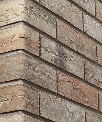 Elastolith 99621 1 m sq Corsica Flexible Mineral Brick Slip - Brown