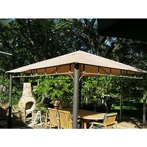 Amazon Com 12 X 12 Arched Corner Single Tiered Gazebo