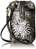 #9: Sakroots Artist Circle Smartphone Wristlet Convertible Cross Body Bag