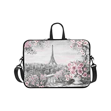 Amazon.com: interestprint Francia París Torre Eiffel Rojo ...