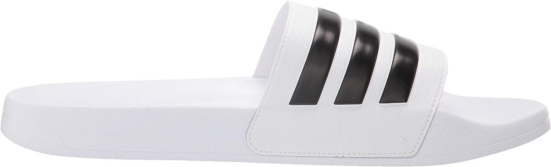 adidas Adilette Mule de Douche pour Homme Cloud White Core Black Cloud White