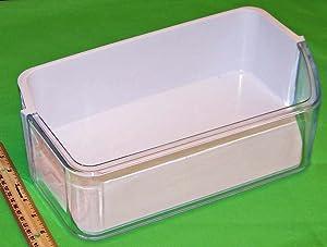 OEM Samsung Refrigerator Door Bin Basket Shelf Tray For Samsung RF263BEAESR, RF263BEAESR/AA, RF263BEAESR/AA-0000