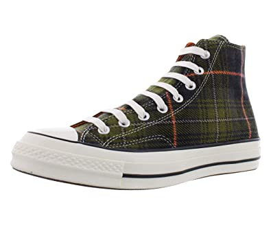 ccb67e568dc9 Amazon.com | Converse Chuck 70 Plaid Athletic Unisex Shoes Size Men's 10 /  Women's 12 | Shoes