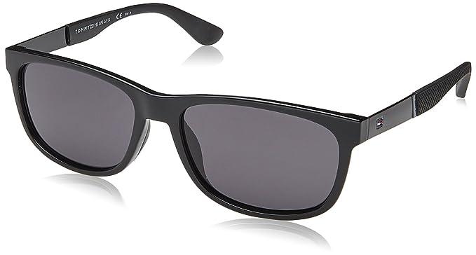 388cf094df Amazon.com  Tommy Hilfiger Men s Th1520s Rectangular Sunglasses ...