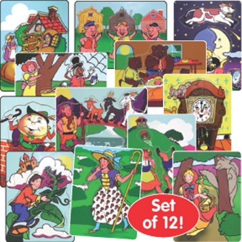 Melissa & Doug Fairy Tales And Nursery Rhyme Puzzles (Set Of 12)