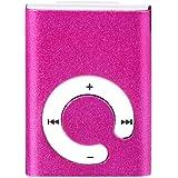 LANDFOX Mini clip USB MP3 del metal del jugador de tarjeta micro del SD TF
