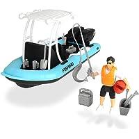 Set S Playlife lancha de pesca con figura