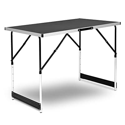 WOLTU CPT8121sz Table de camping pliante table de jardin ...