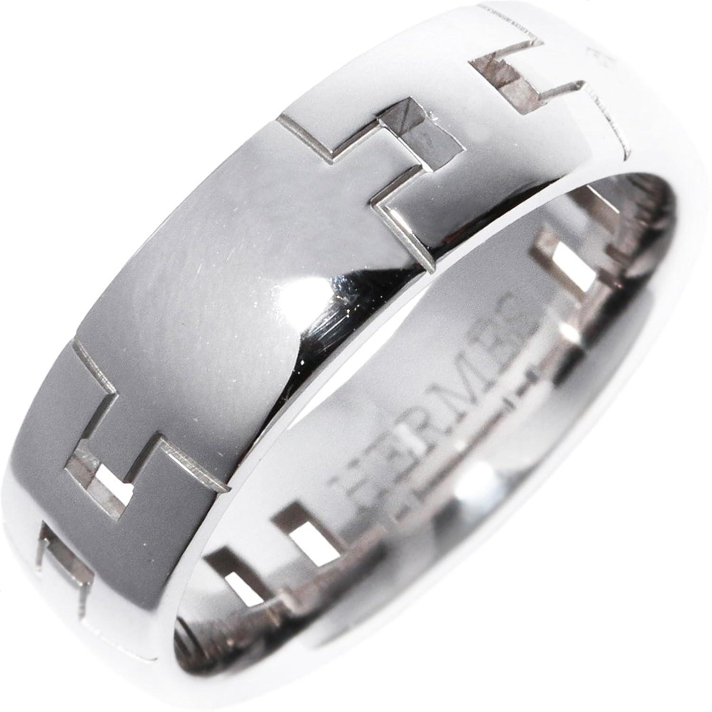 [エルメス]HERMES K18WG ヘラクレスリングGM 指輪 #49(9号) 中古 B07743R3JP