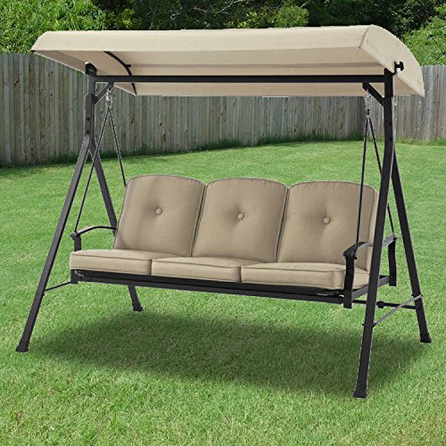UPC 717964051459, Garden Winds Replacement Canopy Top Cover for Belden Park Swing