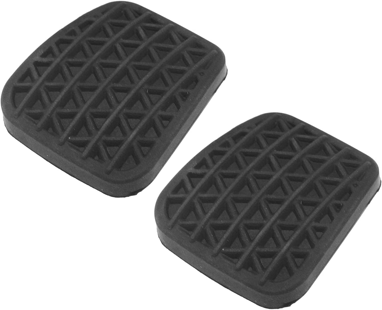D2d Schwarze Gummi Abdeckung Für Kupplungs Oder Bremspedal 2 Stück Küche Haushalt