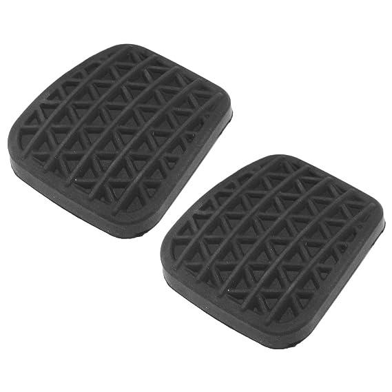 D2D - Cubierta de Goma para Pedal de Embrague o Freno (2 Unidades), Color Negro: Amazon.es: Hogar