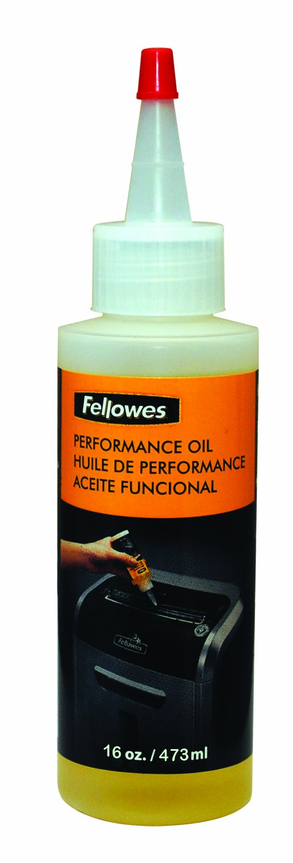 Fellowes Powershred Performance Shredder Oil, 16 oz. Extended Nozzle Bottle (3525010) by Fellowes (Image #1)