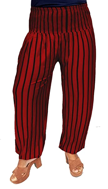 Pantalones bombacho para mujer / sarouel / pantalones elásticos para yoga, deporte