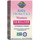 Garden of Life Raw Probiotics for Women - 85 Billion CFU Vaginal Probiotics with Vitamins, Minerals, Fruits, Veggies…