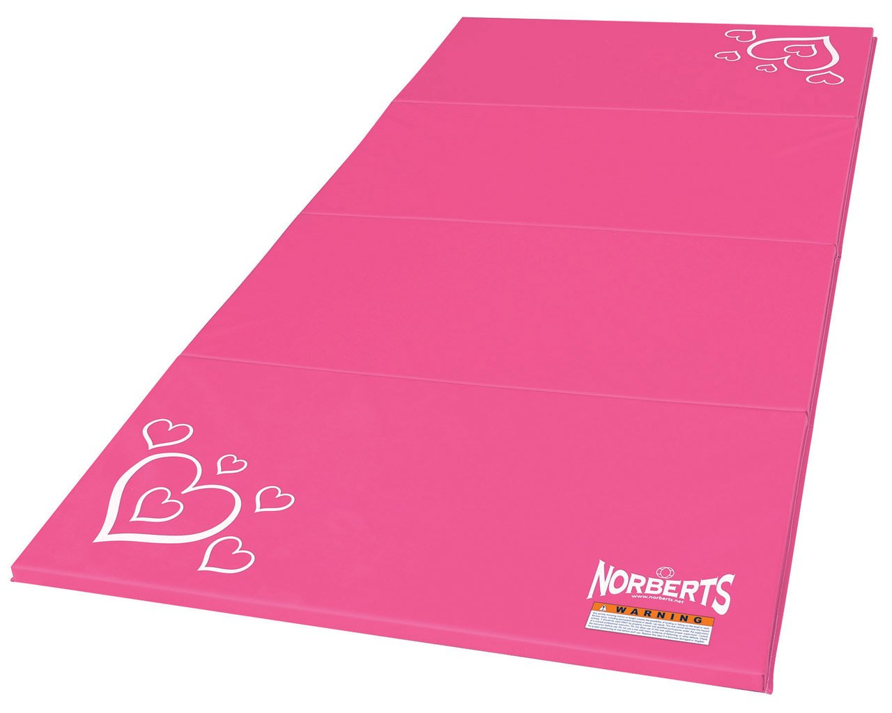 amazoncom athletic products gymnastics panel mat pink 4 x 8feet sports u0026 outdoors