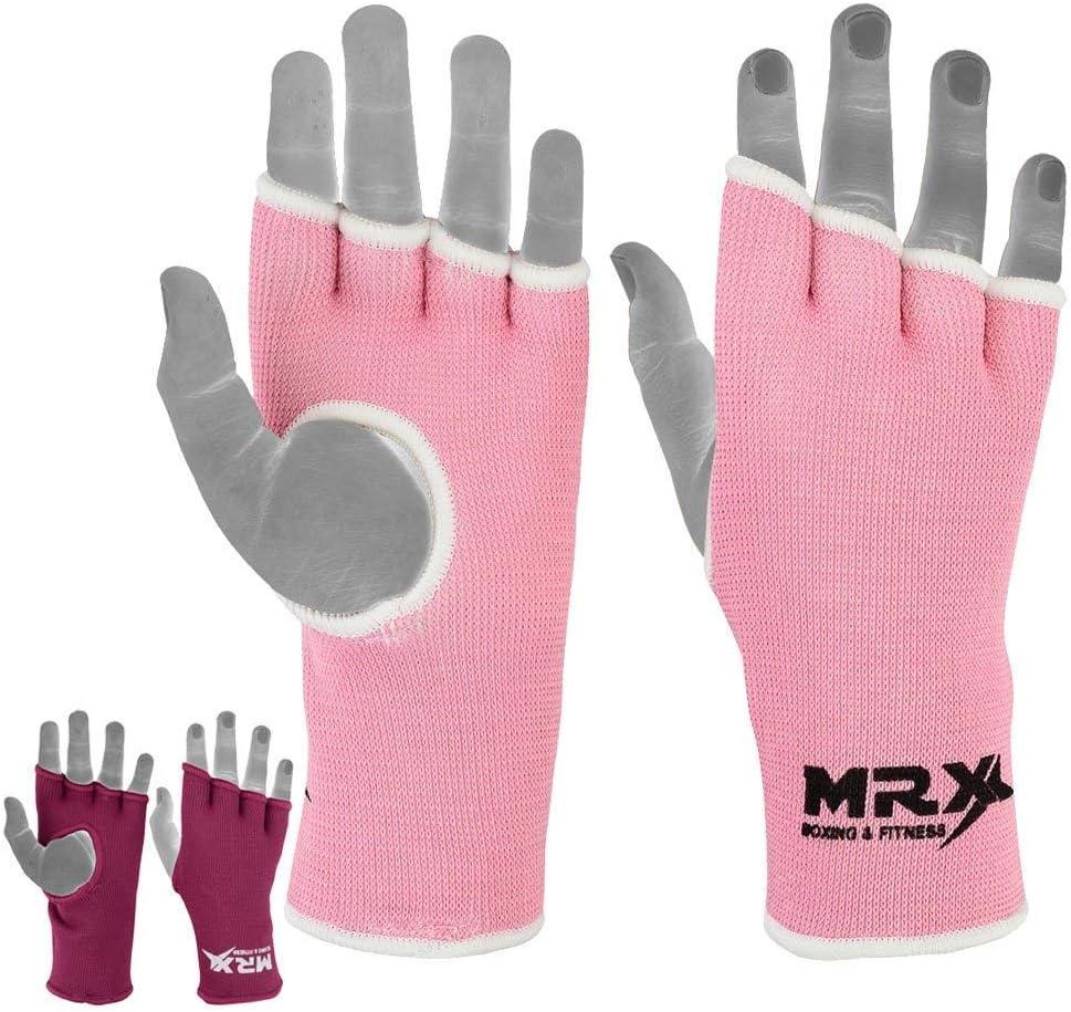 MRX MMA GEL GLOVES Padded Wraps Boxing Inner Hand Wrap Glove-CA