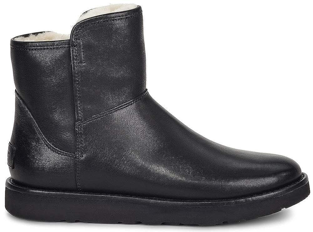 1dbb254b870 UGG Womens Abree Mini Leather Riding Boot Nero Size 8: Amazon.co.uk ...