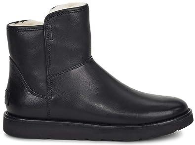 1f82e329e42 UGG Womens Abree Mini Leather Riding Boot Nero Size 8: Amazon.co.uk ...