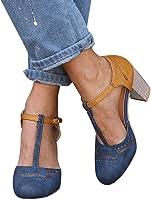 2019 Zapatos De Tacón Alto Ancho
