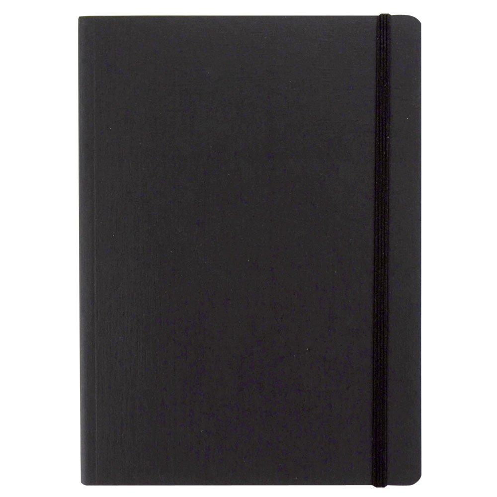 Fabriano taccuino con elastico – colore nero – fogli puntinati - formato a6 B2_0667077
