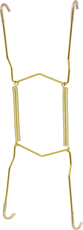 Hillman 122052 Plate Hanger, 11 Inch, Brass