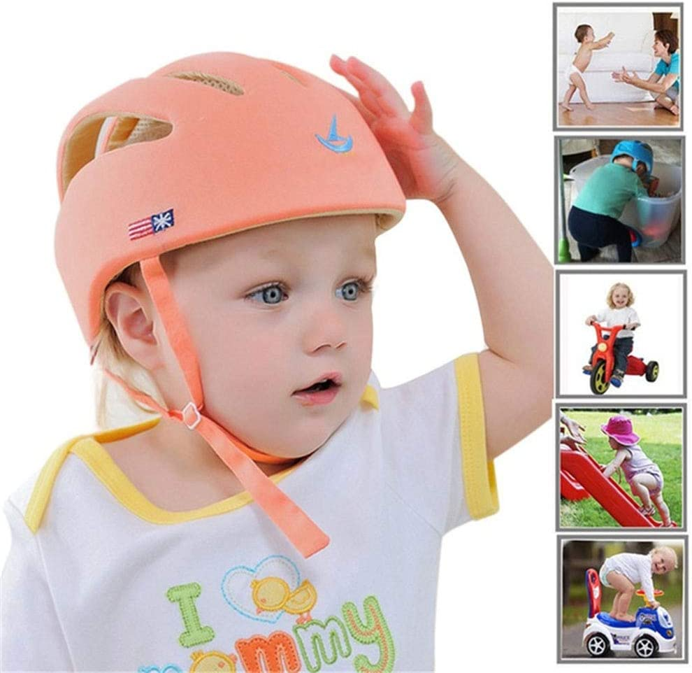 LZBB Childrens Bicycle Helmet,Baby Toddler Helmet Adjustable Helmet for 3-8 Year Old Boy And Girl Outdoor Sports Safety Cycling Scooter Head Cap