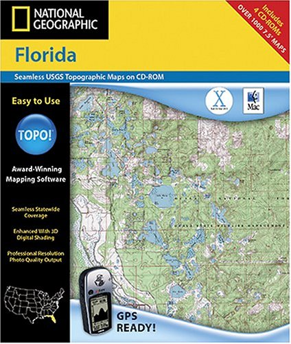 National Geographic TOPO! Map of Florida (Mac)