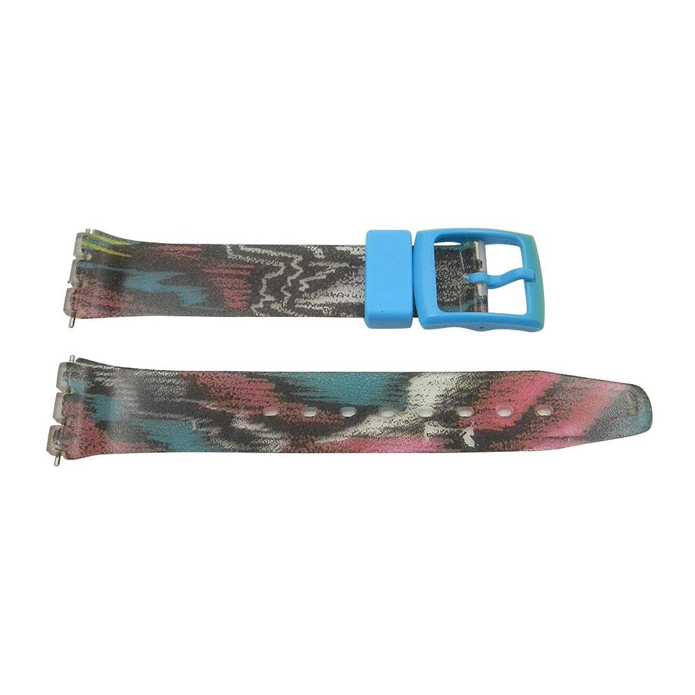 17 mmソフトPVC見本Tie Dyeスタイル交換用時計バンド  B0751JRY6P
