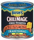 Bush's Best Chili Magic Chili Starter, Traditional Mild, 15.5 oz (Pack of 12)