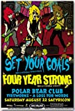 Set Your Goals Poster - Concert Flyer
