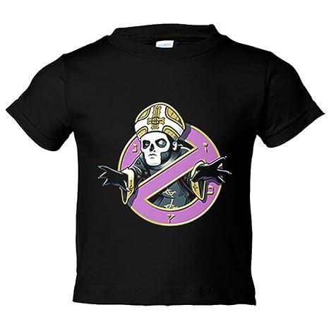 be1e68e1b Camiseta niño Cazafantasmas El Papa Ghostbusters - Negro