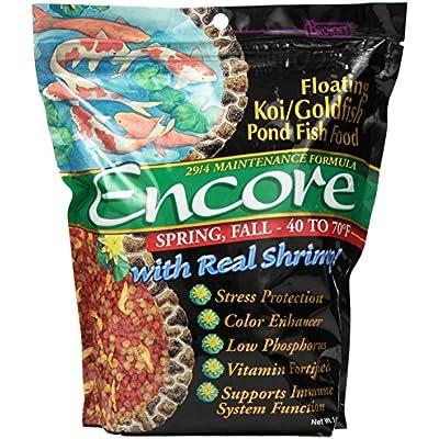 Click for Encore Spring/Fall Koi Goldfish Food, 3-Pound
