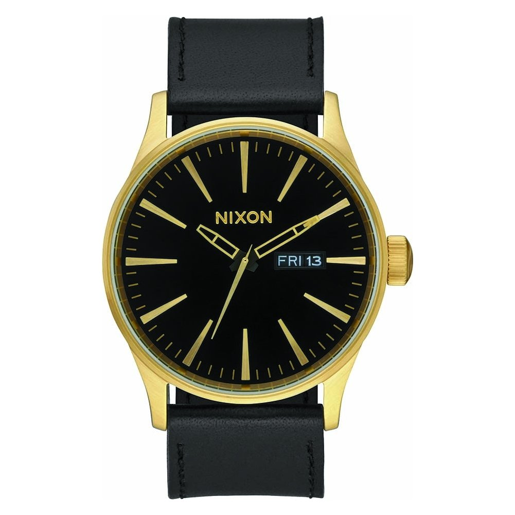 TALLA One Size. NIXON Sentry Leather -Spring 2017- Gold/Black