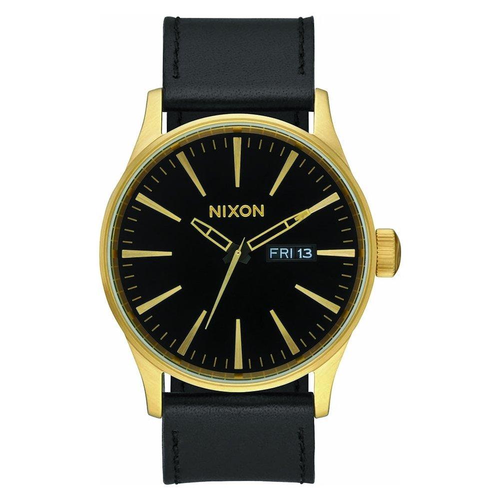 Nixon Reloj Analógico para Hombre de Cuarzo con Correa en Cuero A105-513-00