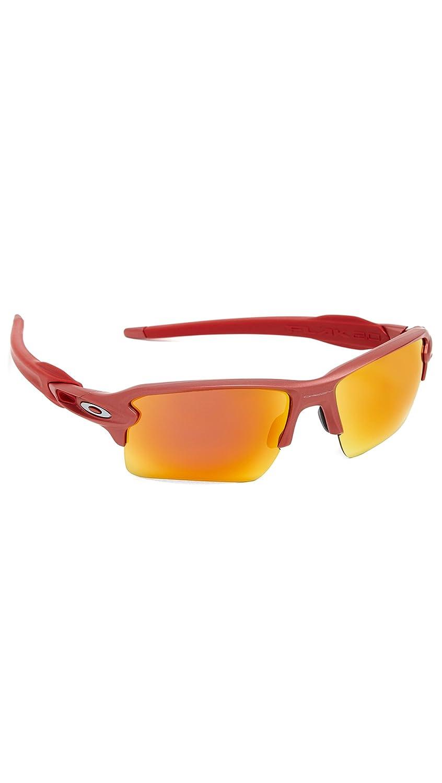 Oakley Red Prizm Rubí FLAK 2.0 XL Gafas de sol: Amazon.es: Ropa y ...