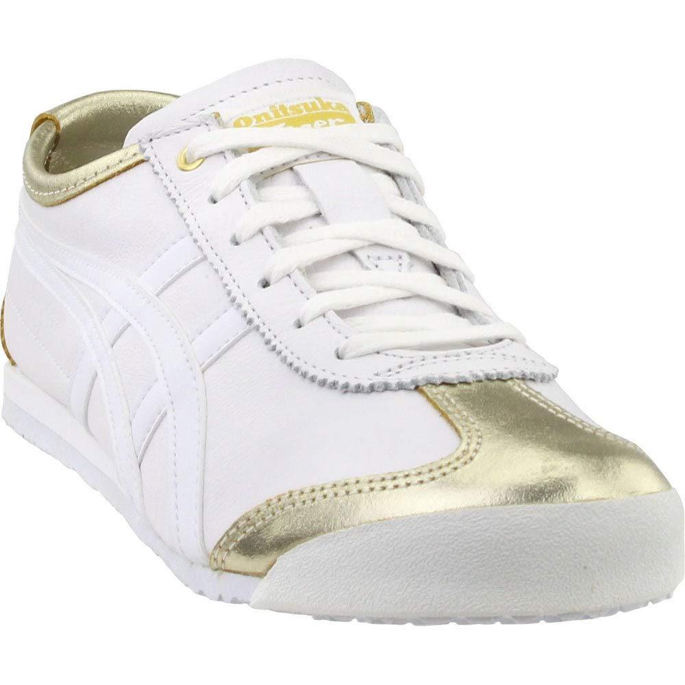 best service 7d87e 46a75 Onitsuka Tiger Unisex Mexico 66 Shoes 1183A033, Lich Gold/White, 6 M US