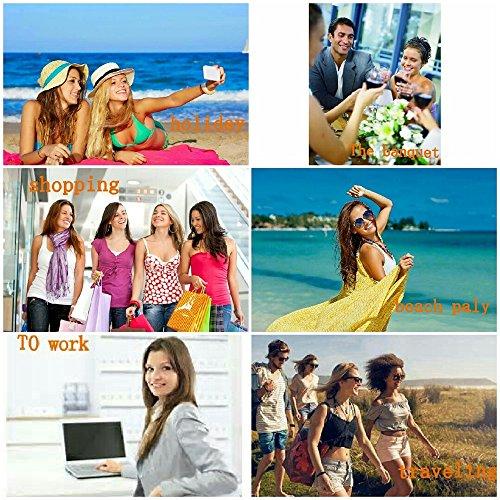 Bleu Couleur Plat Thong Beige Strass 3 Sandales Taille 39 Sandales 1 Femmes Beach Élastique Les T Type Perlé Boho EU Wangcui xOFwzRqC
