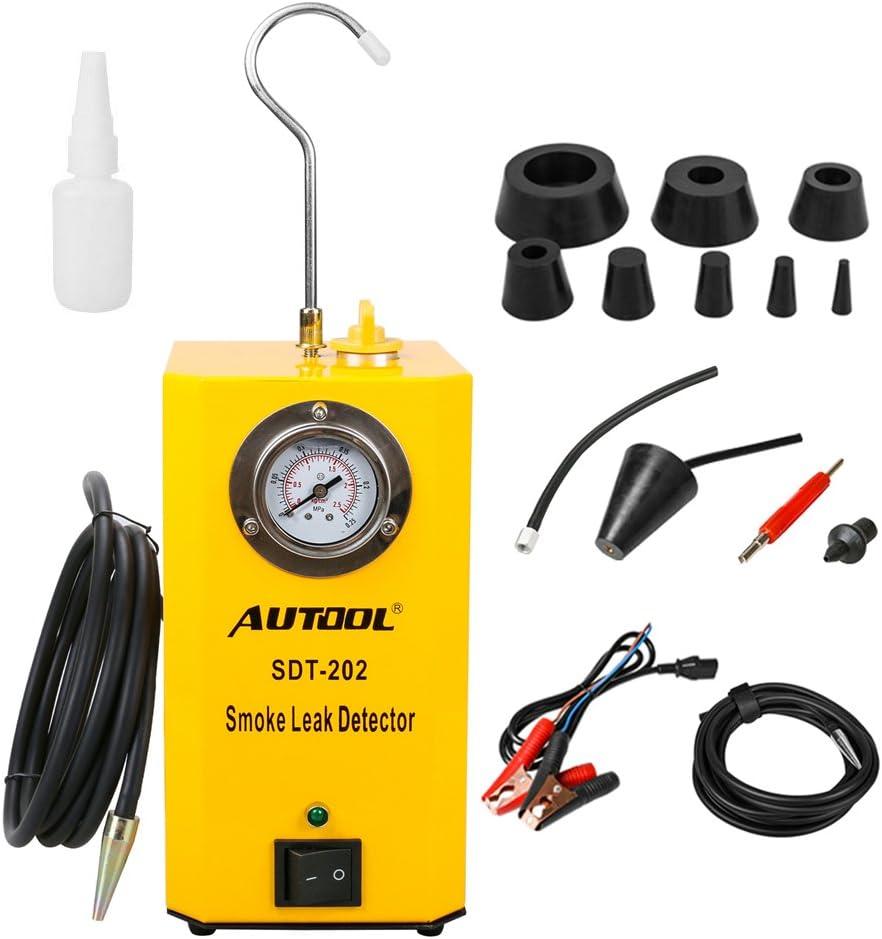 Autool Sdt 202 Automotive Kraftstoffleck Detektor 12 V Auto Lecksuchgerät Unterstützt Evap Auto Kraftstoffleck Detektor Sdt202 Auto Rohrleck Tester Für Alle Fahrzeuge Auto