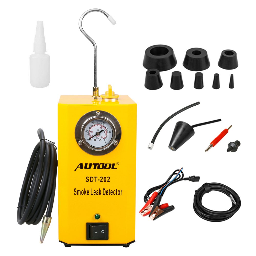 AUTOOL SDT-202 Automotive 12V Locator Support EVAP Fuel Detector SDT202 Car Pipe Leak Tester for All Vehicle