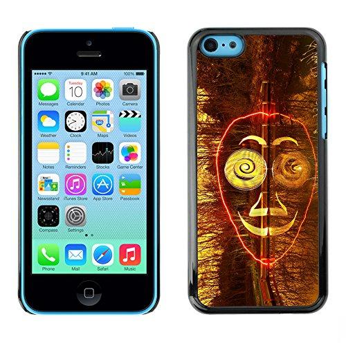 Premio Sottile Slim Cassa Custodia Case Cover Shell // F00024011 masque Surreal // Apple iPhone 5C