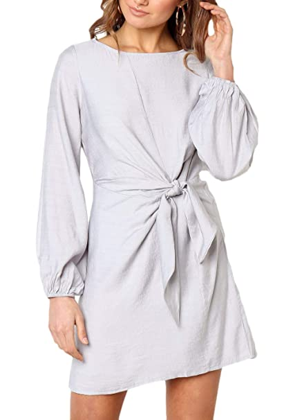 Vestidos Camisa Línea Mujer A Fashion Elegante De Cortos Vestido y7f6gvYb