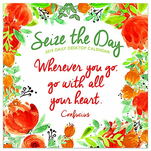 (2019 Seize the Day Daily Desk Calendar)