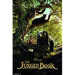 "Trends International the Jungle Book-Man Cub Premium Wall Poster, 22.375"" x 34"""