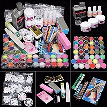 Amazon Ultimate Nail Art Tools Kit Ikevan 42 In 1 Combo Set