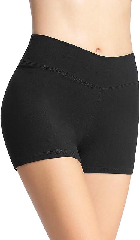 4How Short Danse Femme Coton Short sous Robe