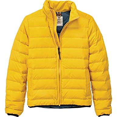 d4913de212a Timberland Bear Head Packable Down Jacket Yellow L: Amazon.co.uk: Clothing