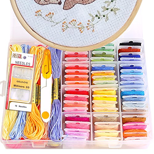 Cross-Stitch Stamped Kits
